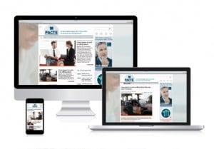 Le site Le Pacte pour les entrepreneurs